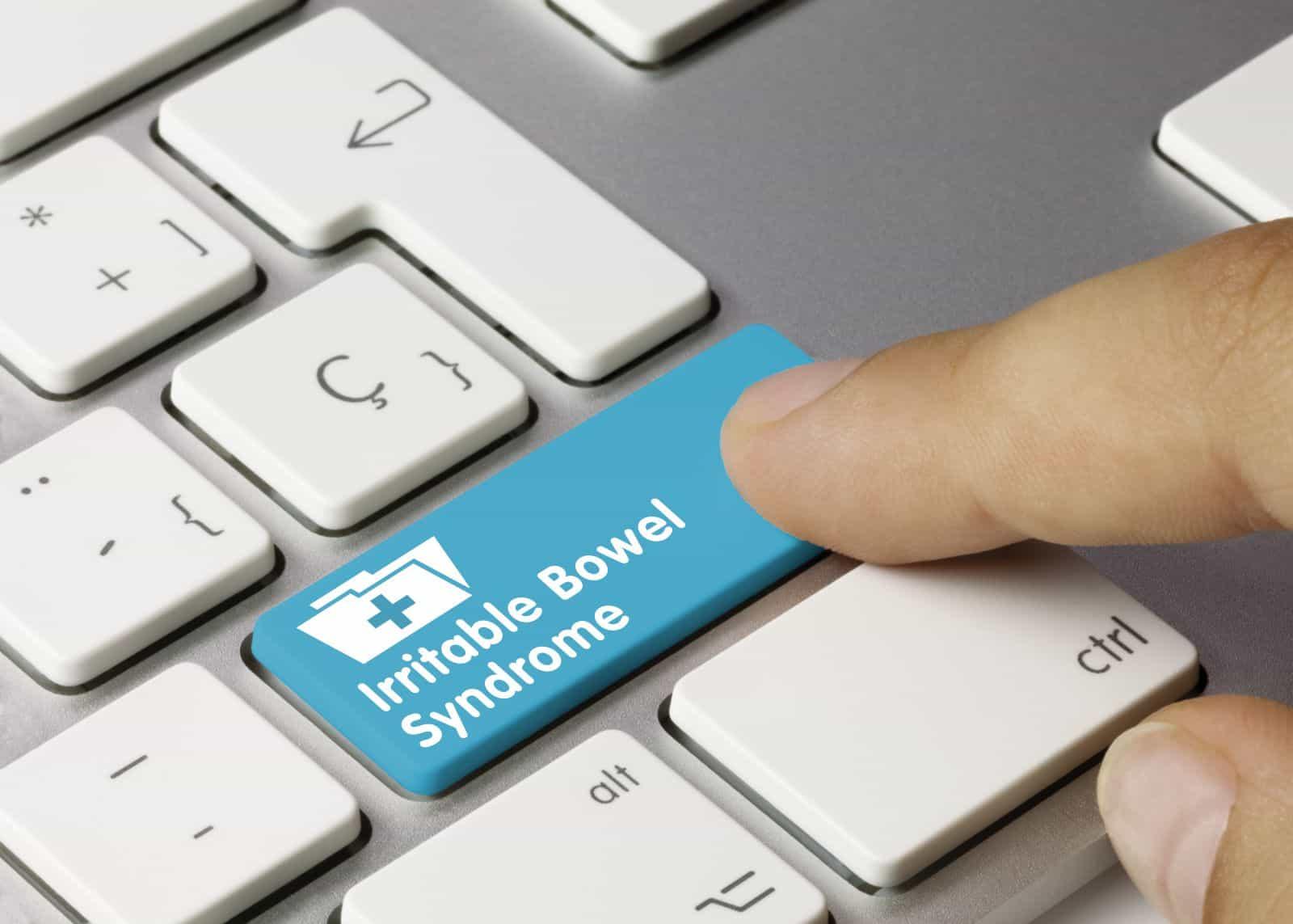 IBS treatment: Finger hitting irritable bowel syndrome key
