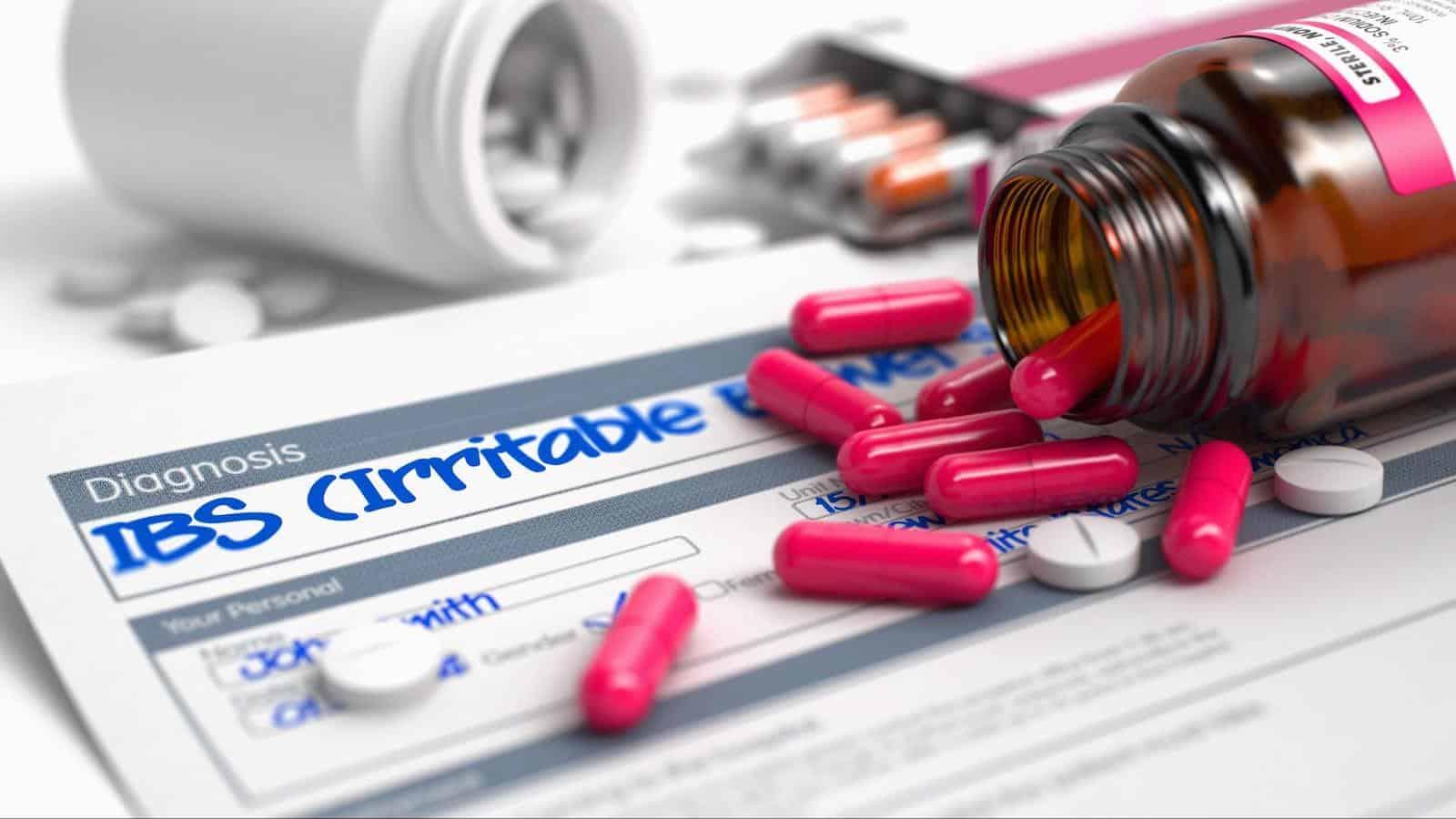 IBS pain: Heap of pills