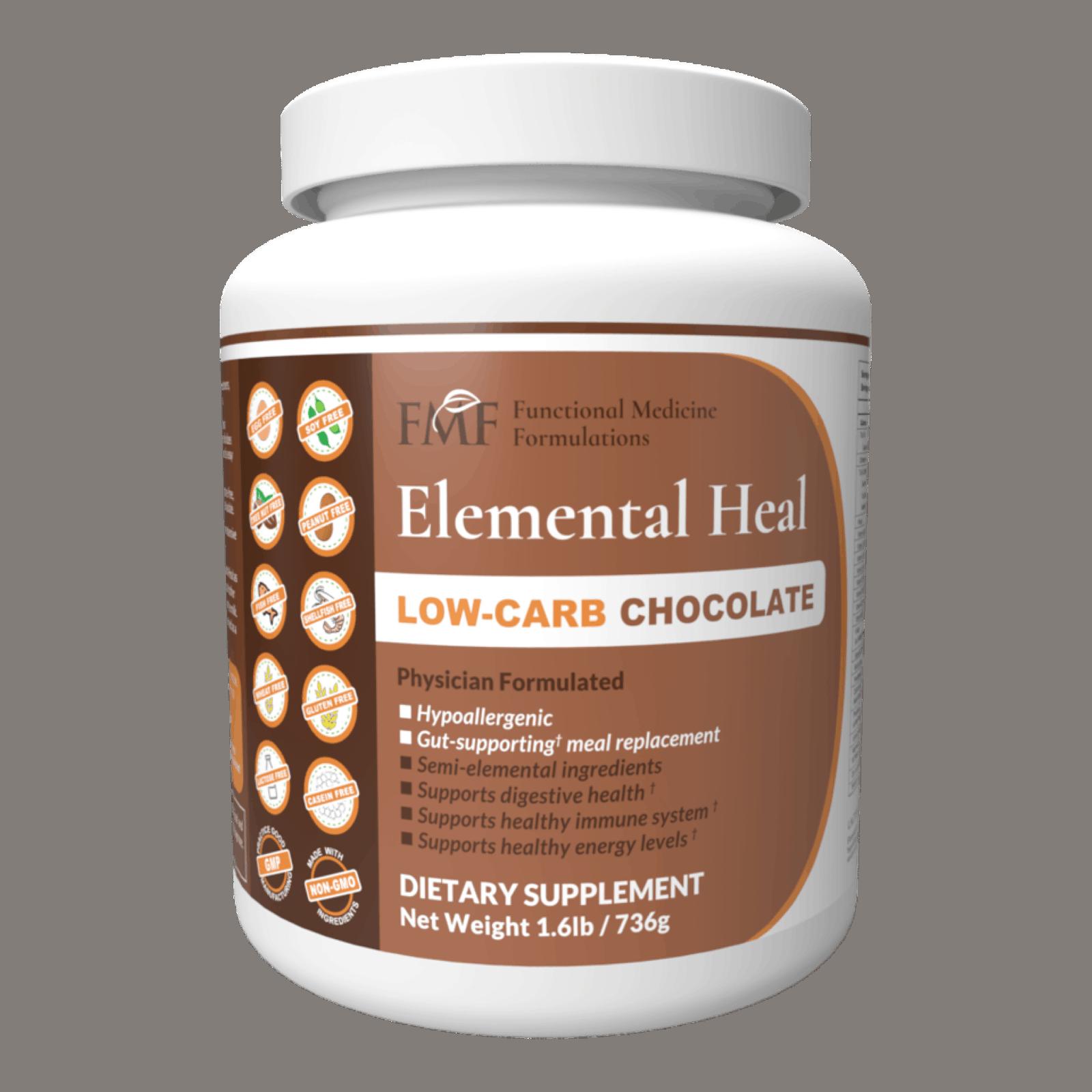 leaky gut diet: Elemental Heal in Low-Carb Chocolate