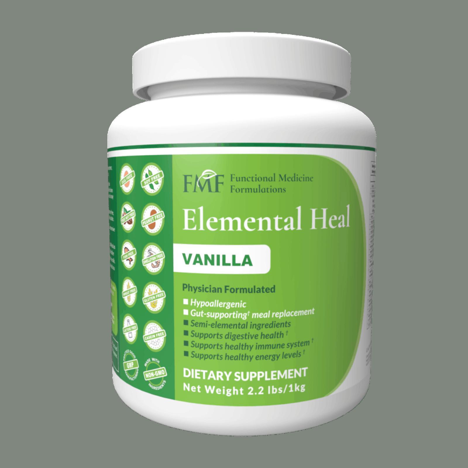Elemental Heal in Vanilla flavor